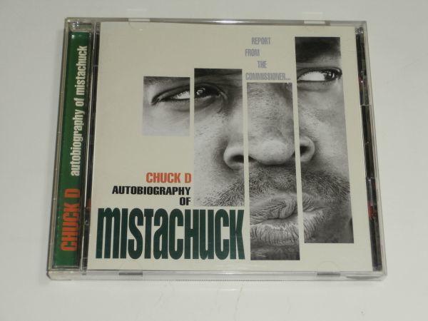国内盤CD / チャック・D CHUCK D『オートバイオグラフィ・オブ・ミスタチャック autobiography of mistachuck』解説、歌詞、対訳つき_画像1
