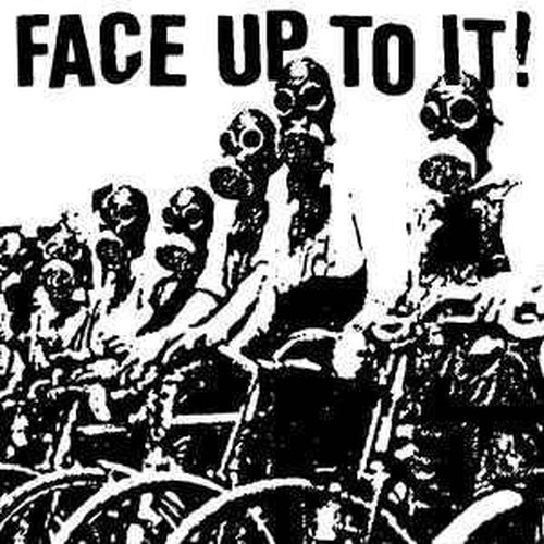 ※中古EP CRUCIAL SECTION:FACE UP TO IT!/split ep 2002年作品 日本/フランス・ハードコアパンク GAUZE VIVISICK NK6 ハンマー_画像2