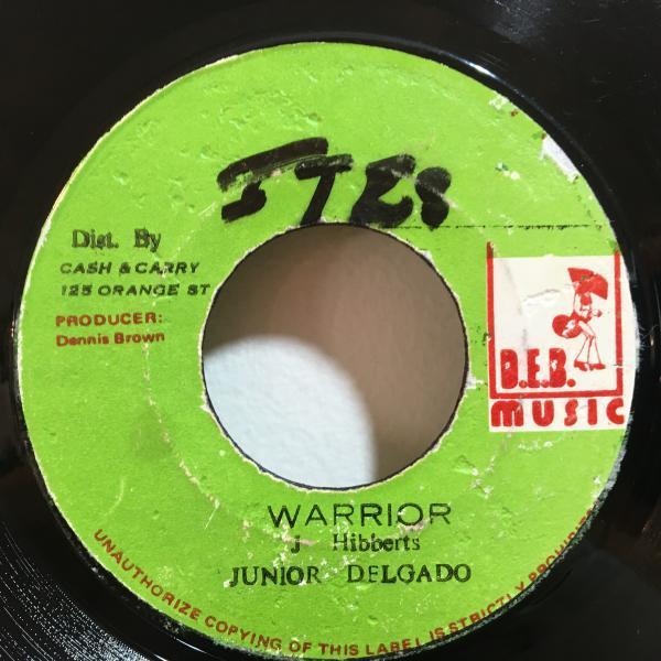 ★Junior Delgado/Warrior★KILLER ROOTS!7inch 45_画像1