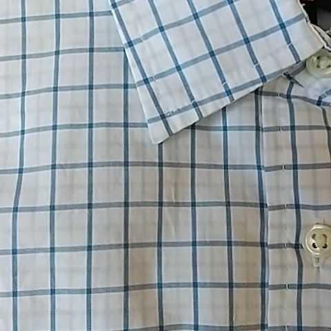 ポロジーンズ ラルフローレン 七分袖チェックシャツ