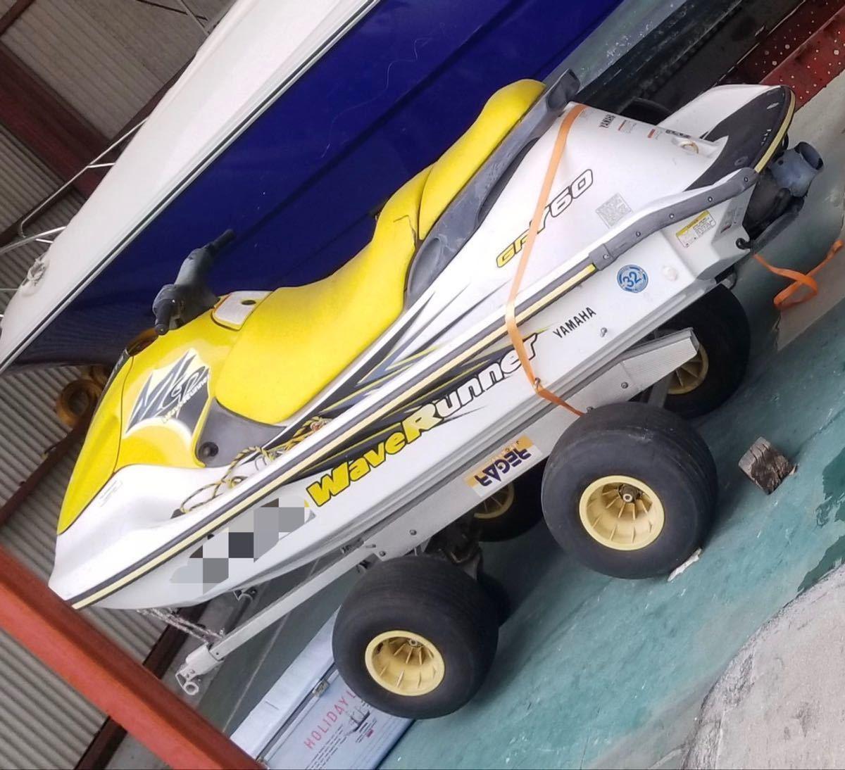 「YAMAHA GP760 ジェットスキー 2スト 2人乗り」の画像1