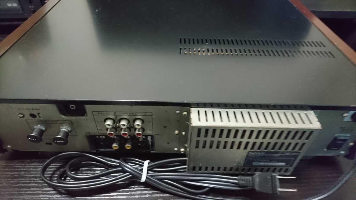 SONY EDV-5000 ジャンク品_画像6