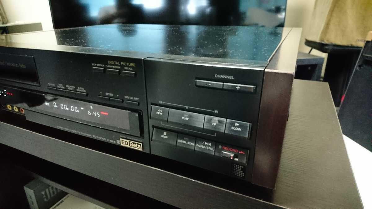 SONY EDV-5000 ジャンク品_画像3