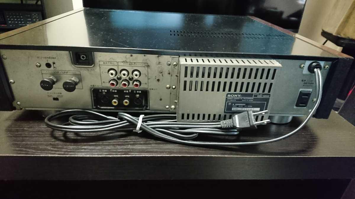 SONY EDV-5000 ジャンク品_画像5