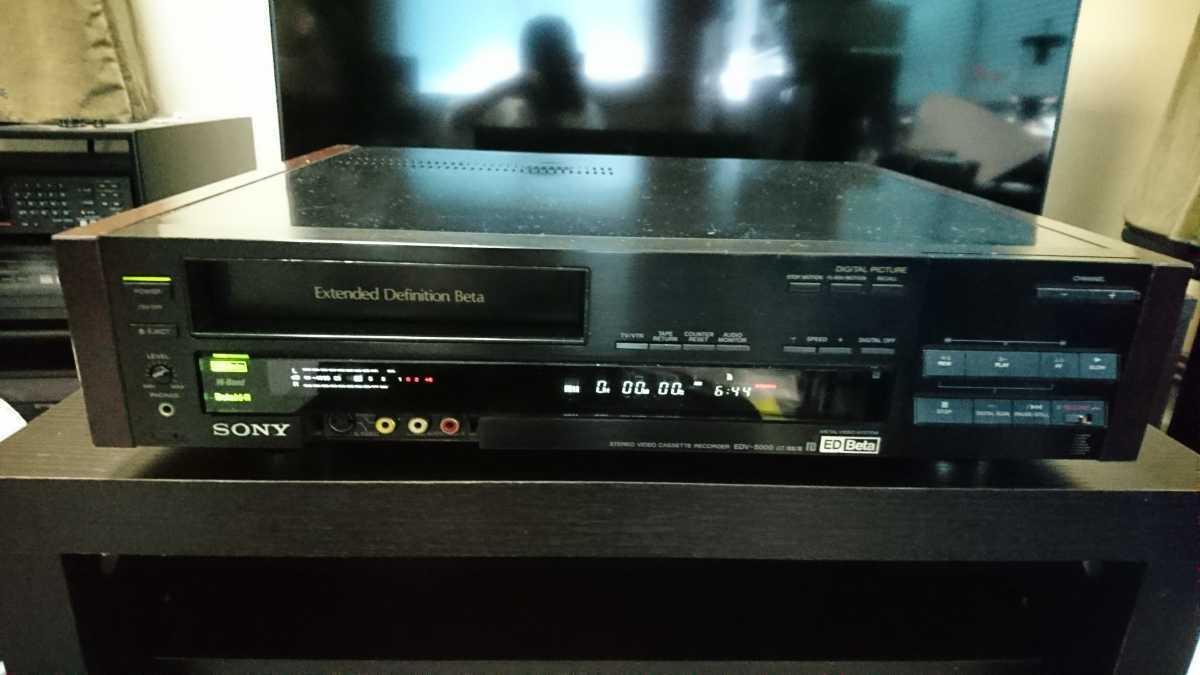 SONY EDV-5000 ジャンク品_画像1