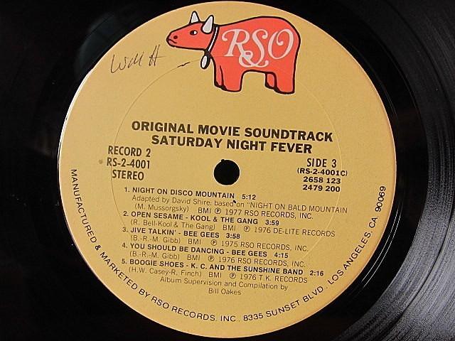 SATURDAY NIGHT FEVER ORIGINAL SOUNDTRACK 2LP RSO RS-2-4001★200519t4-rcd-12-otレコード12インチUS盤米LPサントラ映画_画像5