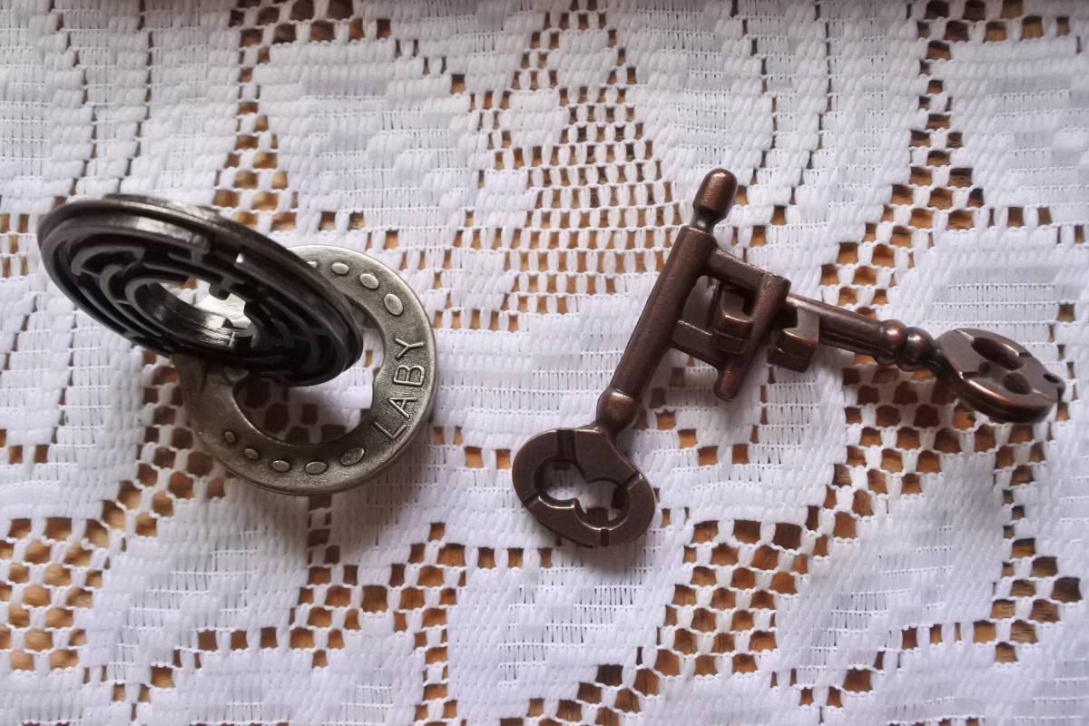 ハナヤマ キャストパズル★知恵の輪★8個まとめて_画像5