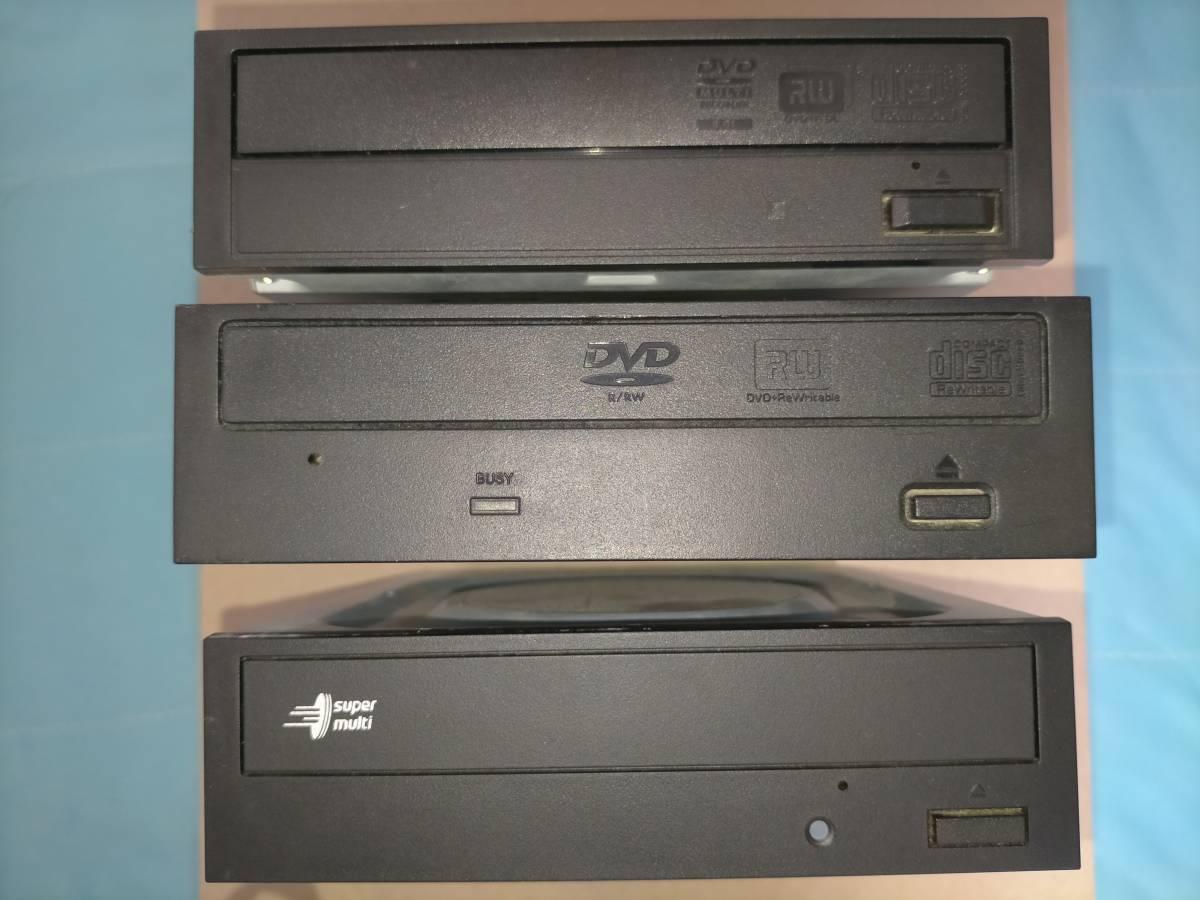 ジャンク品色々セット DVDドライブ マザーボード グラフィックボード ケース用ファン CPU