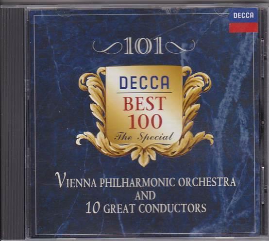 ★CD DECCA ウィーンフィルと10人の名指揮者による管弦楽名曲集 クナッパーブッシュ.カラヤン.ケルテス3.マゼール他 非売品CD <_画像1