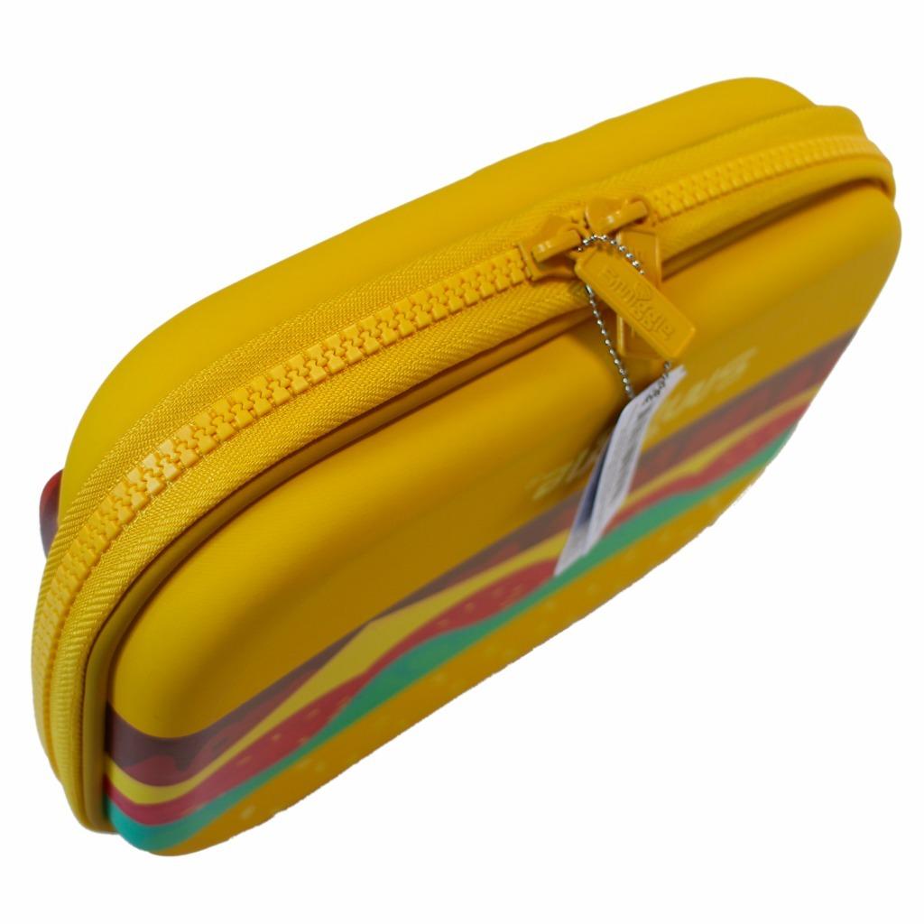 筆箱 ペンケース ハードジップ smiggle スミグル 新品 ハンバーガー型 Blast Fast Hardtop Pencil Case_画像5