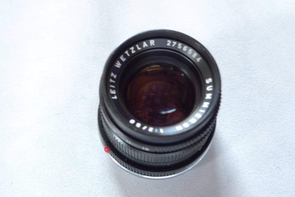 ライカズミクロン50mmドイツ製未使用品_画像2