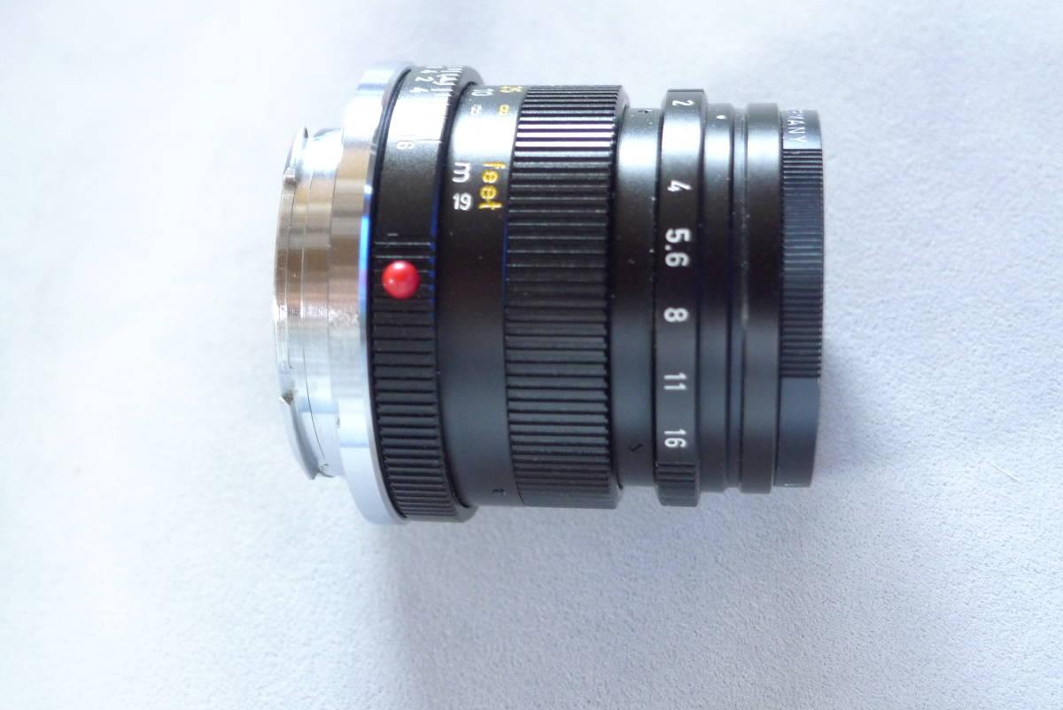 ライカズミクロン50mmドイツ製未使用品_画像1