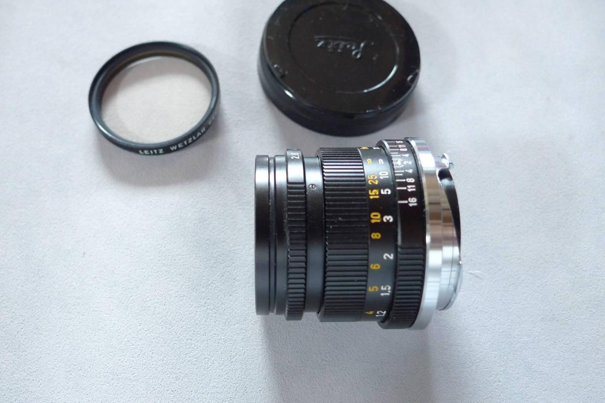 ライカズミクロン50mmドイツ製未使用品_画像5
