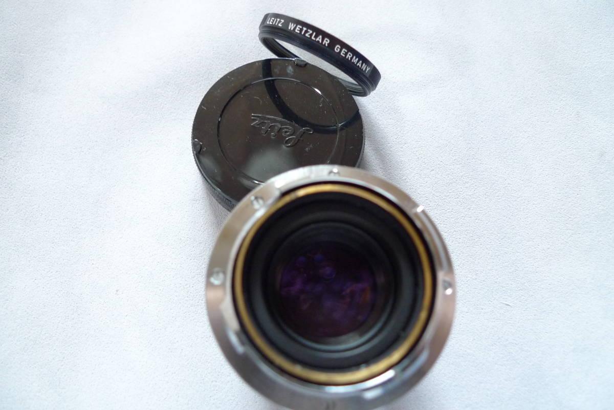 ライカズミクロン50mmドイツ製未使用品_画像6