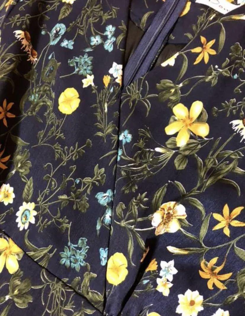 花柄ワンピース ロングワンピース