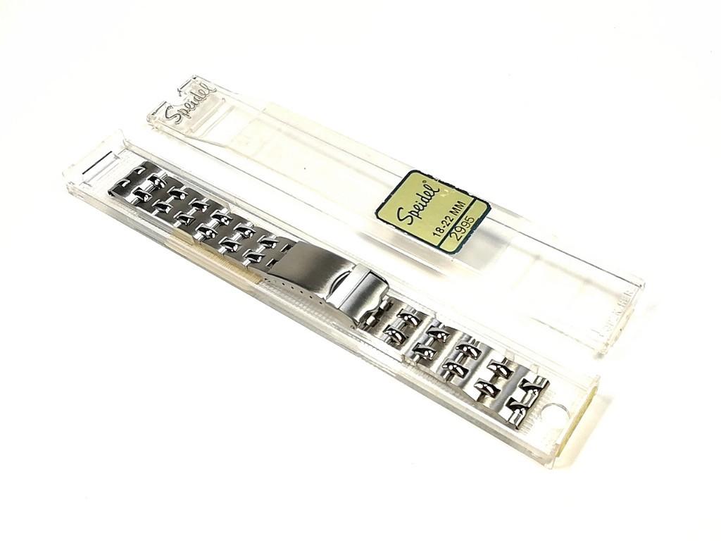 【Speidel】ステンレススチール 当時ものケース付き 腕時計バンド デッドストック ベルト アンティーク/ビンテージウォッチに MB762_画像2