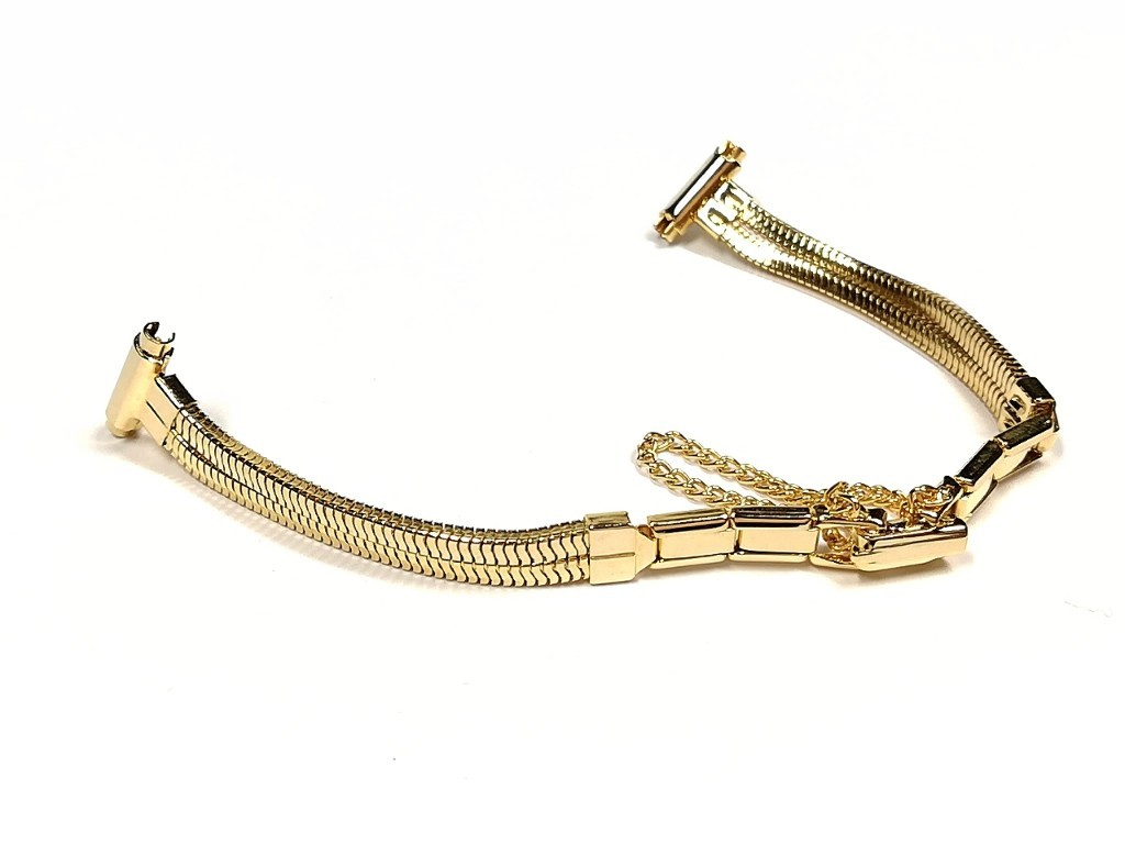 【BOWLES】 女性用腕時計ブレス 一部伸縮タイプ レディースウォッチバンド アンティークウォッチ/ビンテージウォッチに LB773_画像2