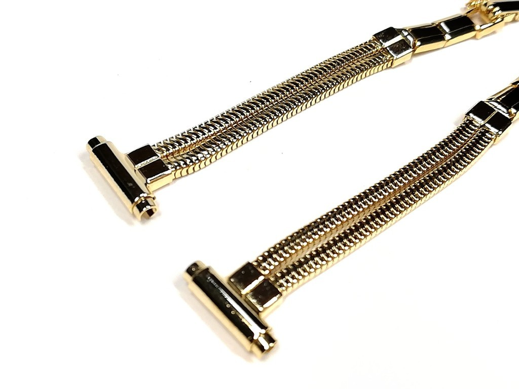 【BOWLES】 女性用腕時計ブレス 一部伸縮タイプ レディースウォッチバンド アンティークウォッチ/ビンテージウォッチに LB773_画像7