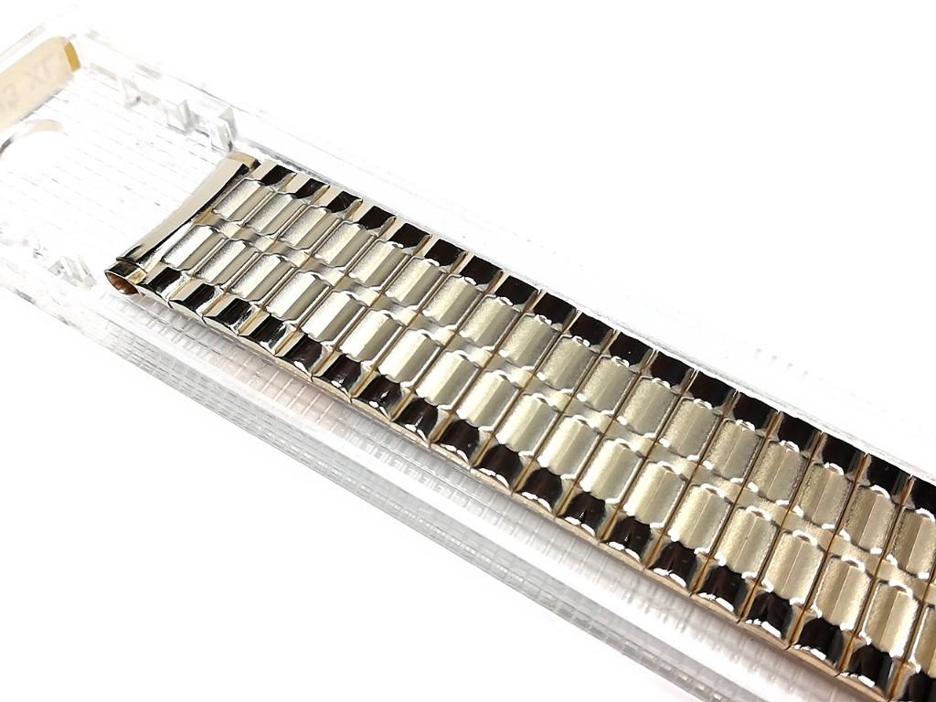 【Speidel】USA ケース付きデッドストック メンズウォッチ伸縮バンド 腕時計ベルト エクスパンションブレス ビンテージ MB782_画像3