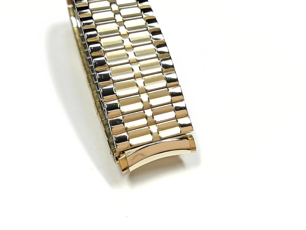 【Speidel】USA ケース付きデッドストック メンズウォッチ伸縮バンド 腕時計ベルト エクスパンションブレス ビンテージ MB782_画像4