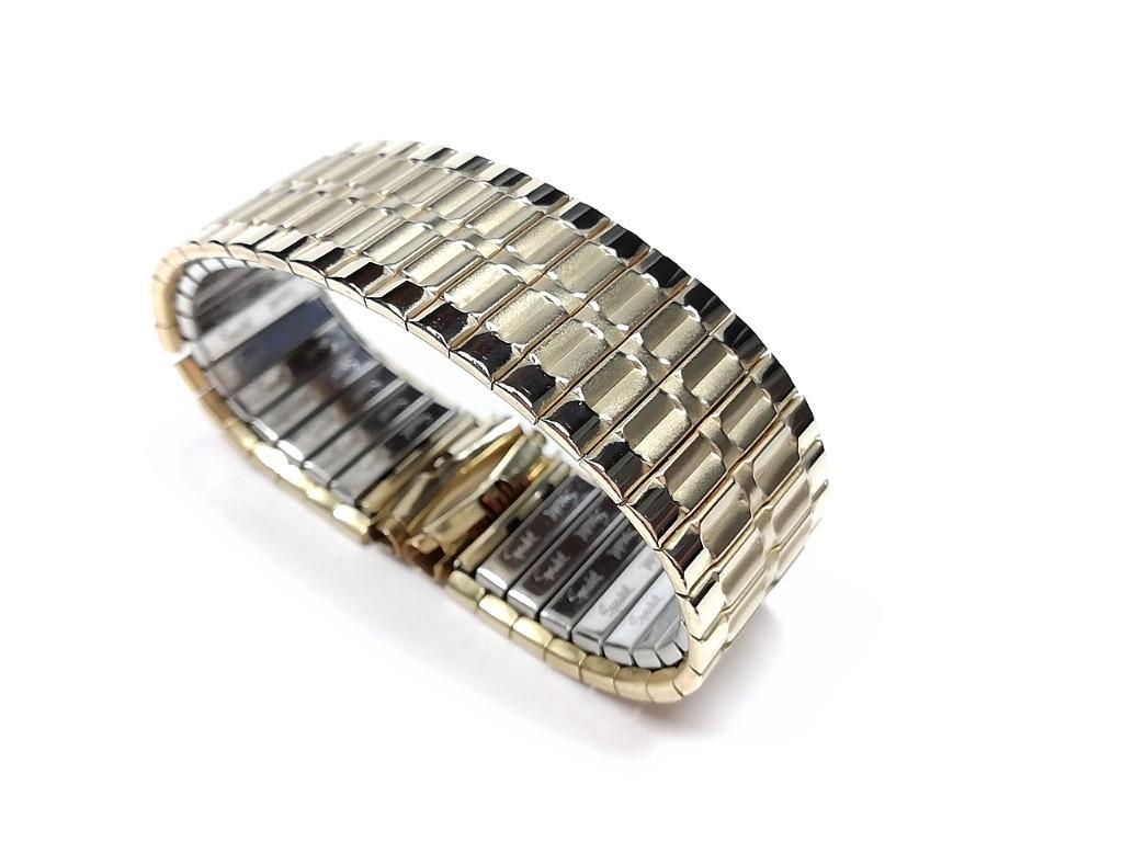 【Speidel】USA ケース付きデッドストック メンズウォッチ伸縮バンド 腕時計ベルト エクスパンションブレス ビンテージ MB782_画像1