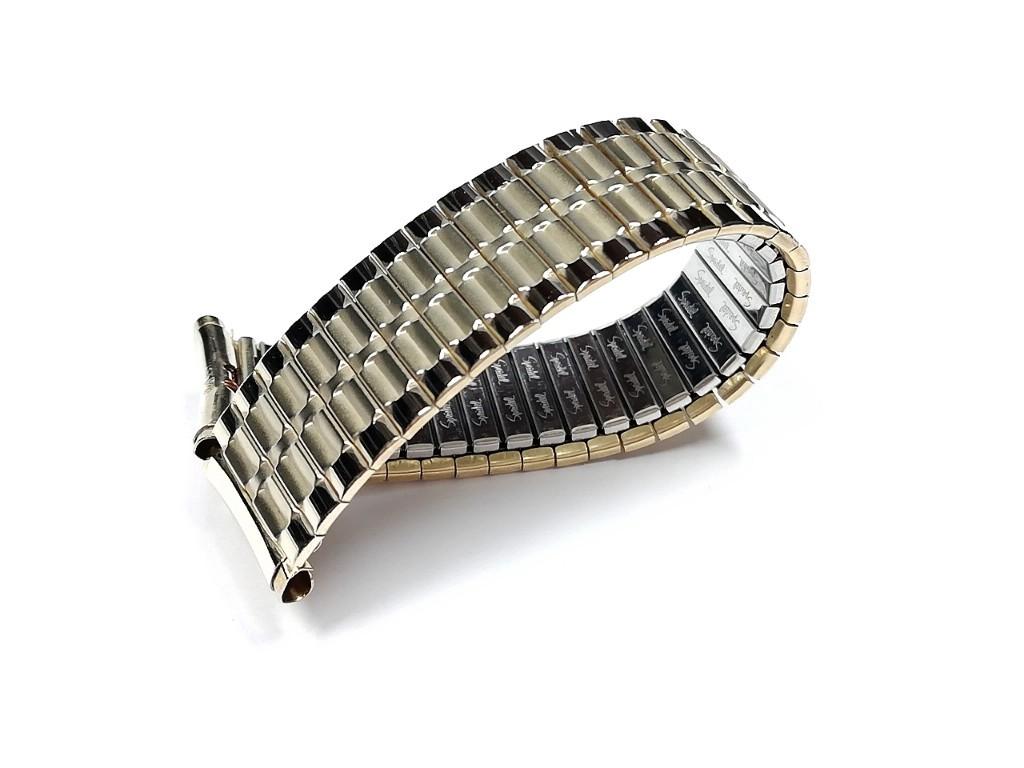 【Speidel】USA ケース付きデッドストック メンズウォッチ伸縮バンド 腕時計ベルト エクスパンションブレス ビンテージ MB782_画像9