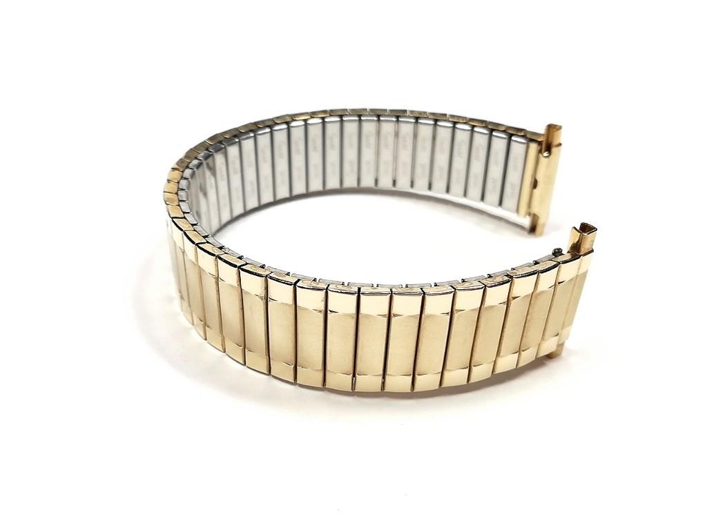 【Speidel】当時もの USA デッドストック ウォッチバンド 17-22mm 伸縮ブレス メンズ腕時計金属ベルト ビンテージウォッチに MB789_画像6