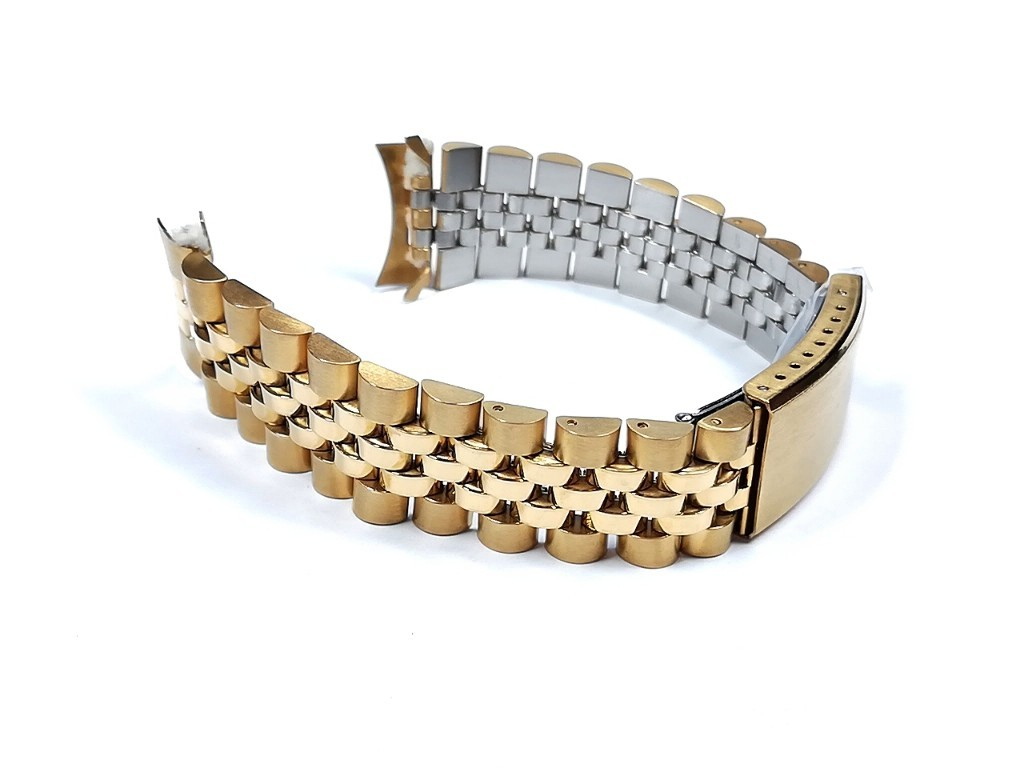【Speidel】当時ものケース付きデッドストック ウォッチバンド 20mm ブレス メンズ腕時計金属ベルト ビンテージウォッチに MB796_画像6