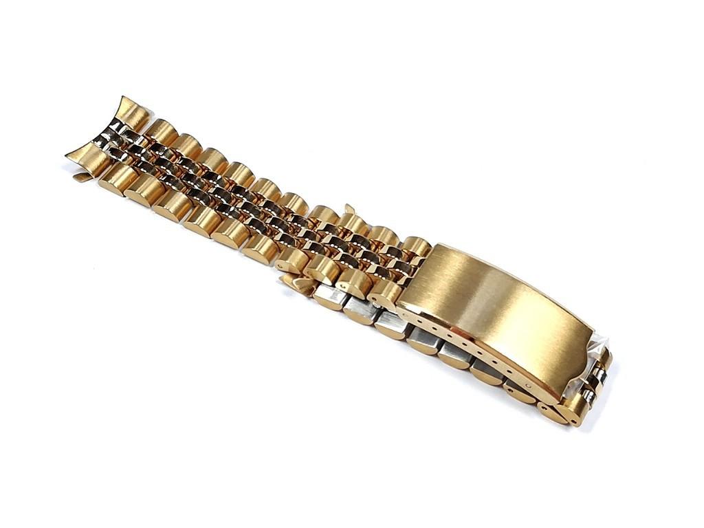 【Speidel】当時ものケース付きデッドストック ウォッチバンド 20mm ブレス メンズ腕時計金属ベルト ビンテージウォッチに MB796_画像3