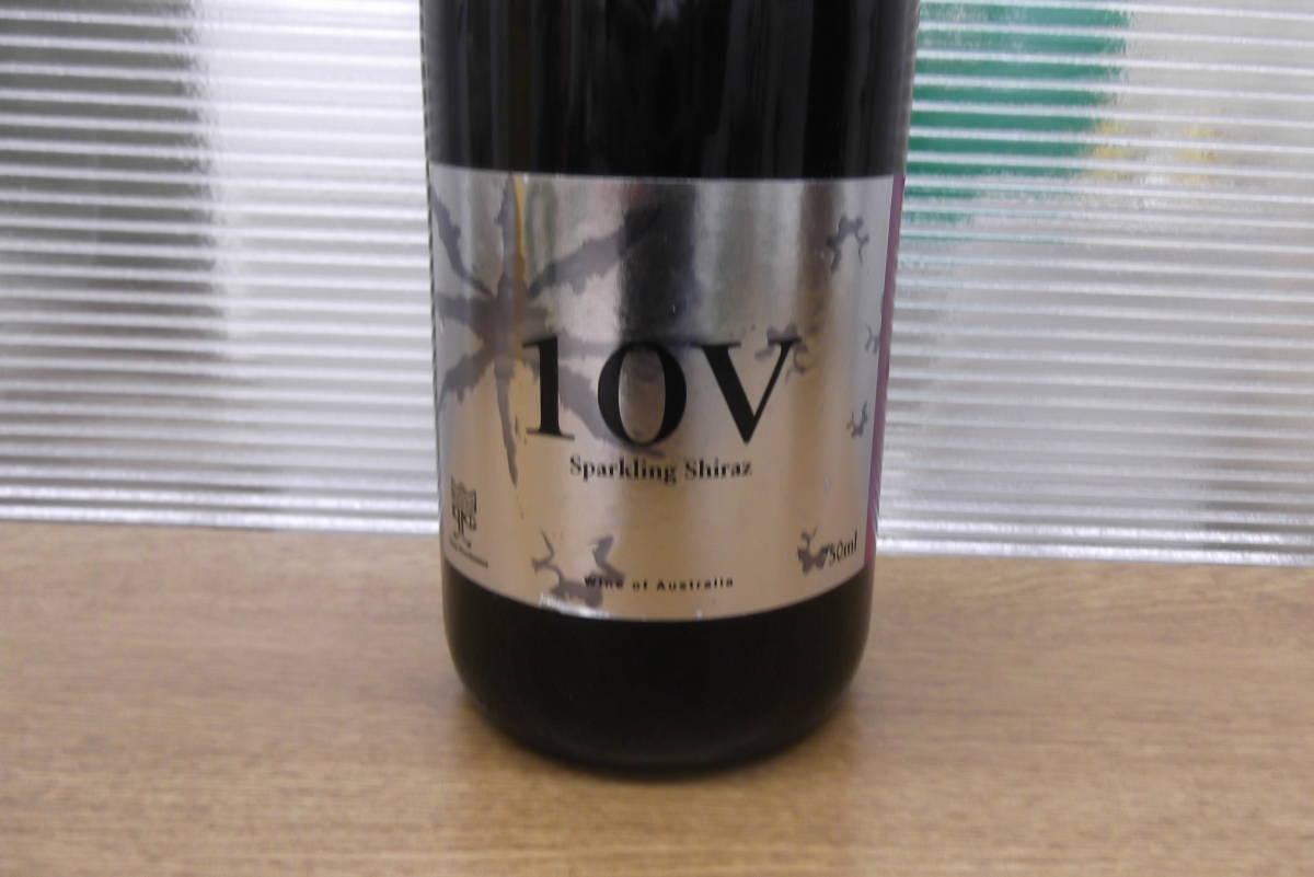 【6845】オーストラリア 10V スパークリング シラーズ スパークリングワイン Shiraz 箱付 果実酒 アルコール お酒 コレクション_画像6