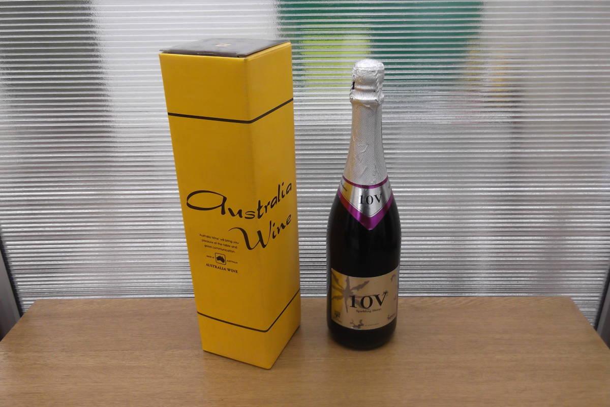【6845】オーストラリア 10V スパークリング シラーズ スパークリングワイン Shiraz 箱付 果実酒 アルコール お酒 コレクション_画像1