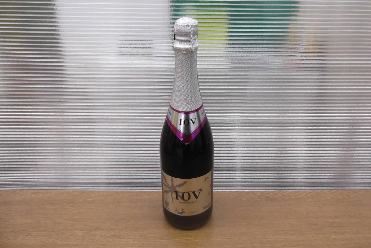 【6845】オーストラリア 10V スパークリング シラーズ スパークリングワイン Shiraz 箱付 果実酒 アルコール お酒 コレクション_画像2