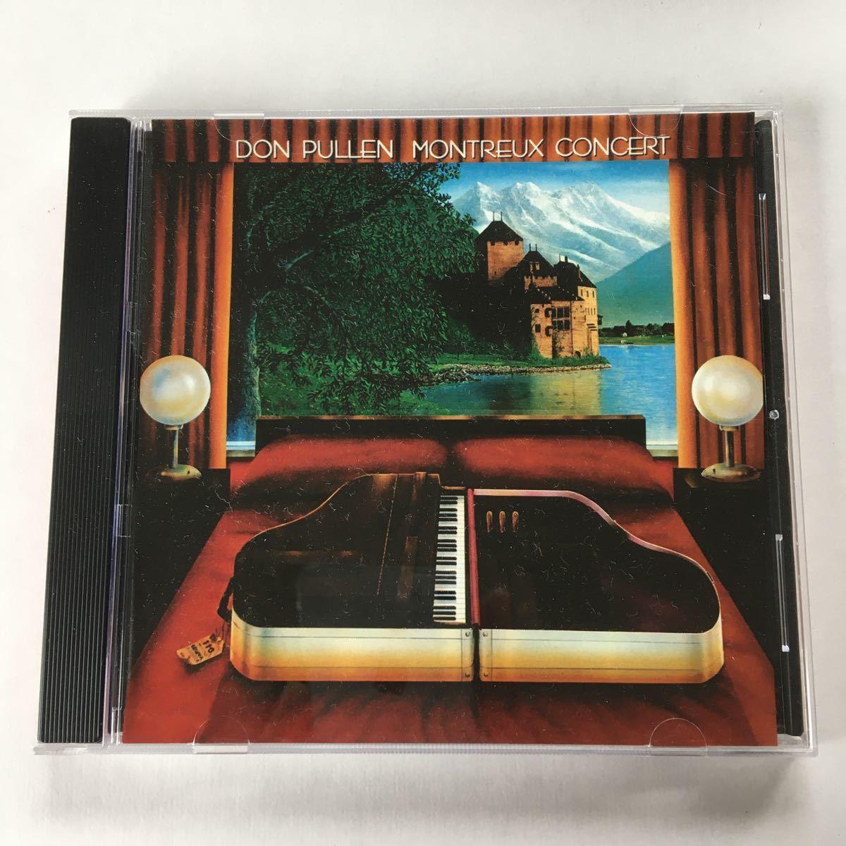 【送料無料】 Don Pullen Montreux Concert ドン・ピューレン モントルー・コンサート CD_画像1
