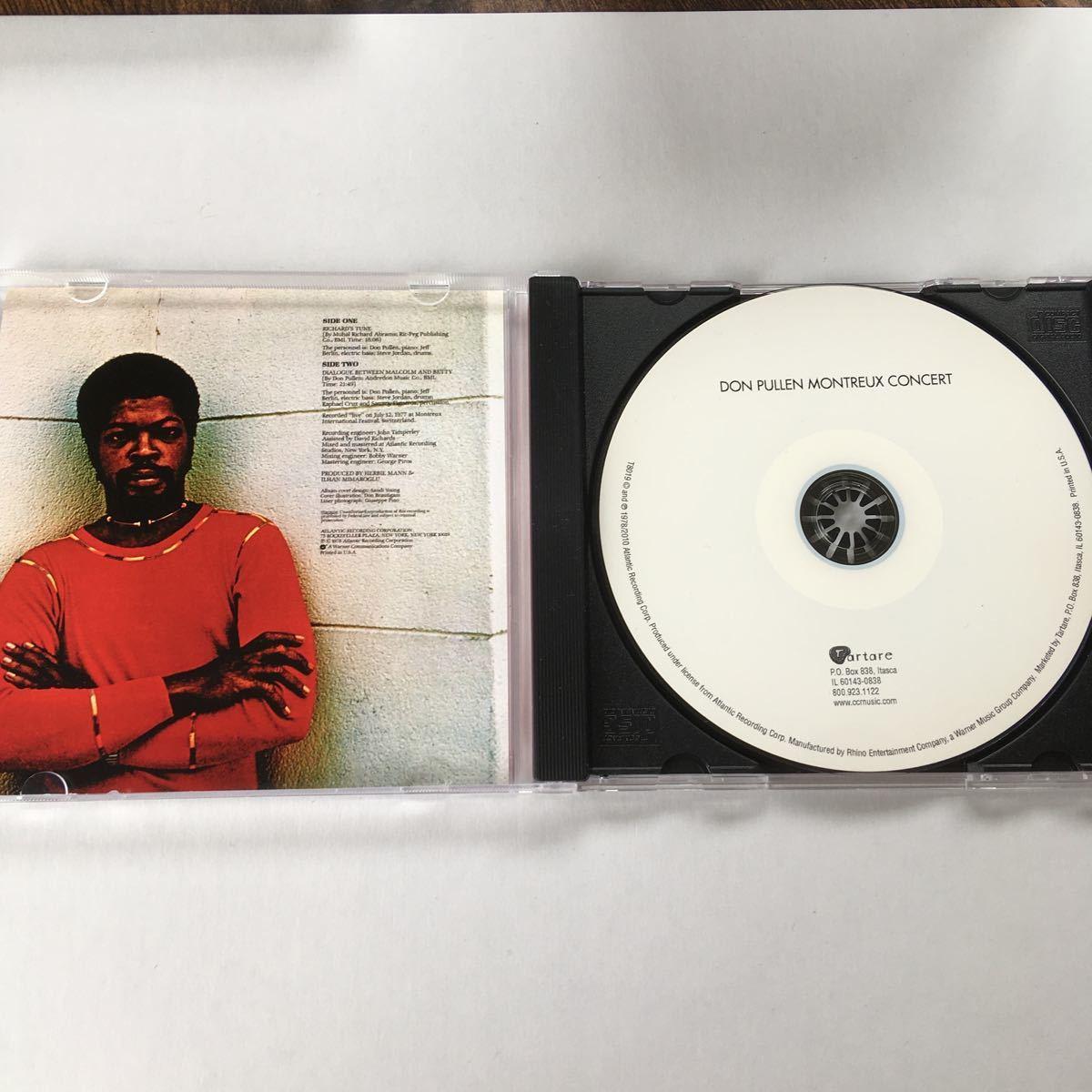 【送料無料】 Don Pullen Montreux Concert ドン・ピューレン モントルー・コンサート CD_画像3
