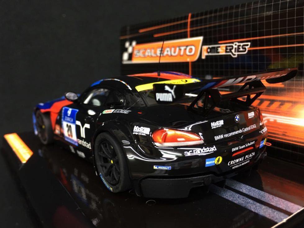 ★Scale Auto スケールオート 1/32 スロットカー◆BMW Z4 GT3 No.20 ニュルブルクリンクShubert Motorsport SC-6070★即決OK、送料無料!!★