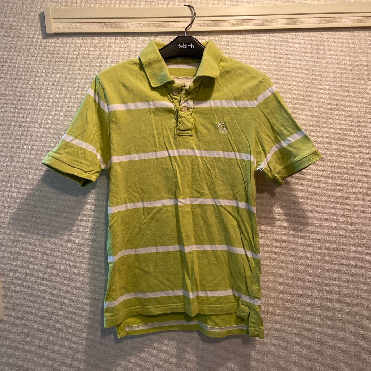Abercrombie&Fitch 半袖ポロシャツ M