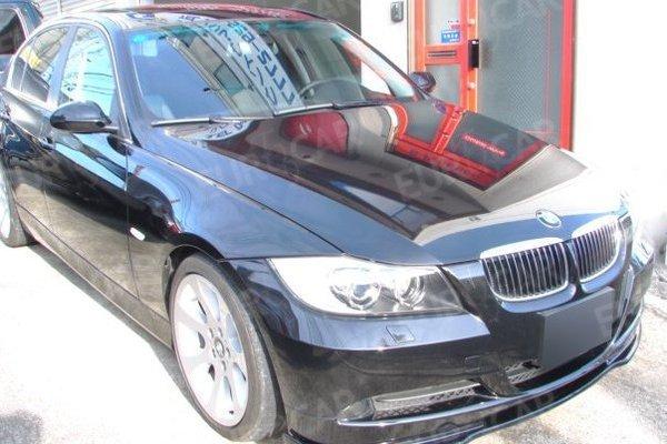 BMW E90 E91 色無 H フロントリップスポイラー_画像3