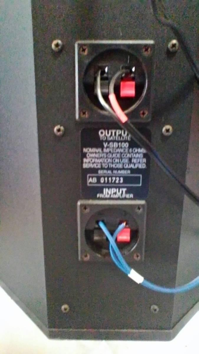 CANON ウーファー中古、動作確認済2台。とBOSEサテライトスピーカー中古、動作確認済2台のセットで。値下げしました。_ネットワーク内蔵。