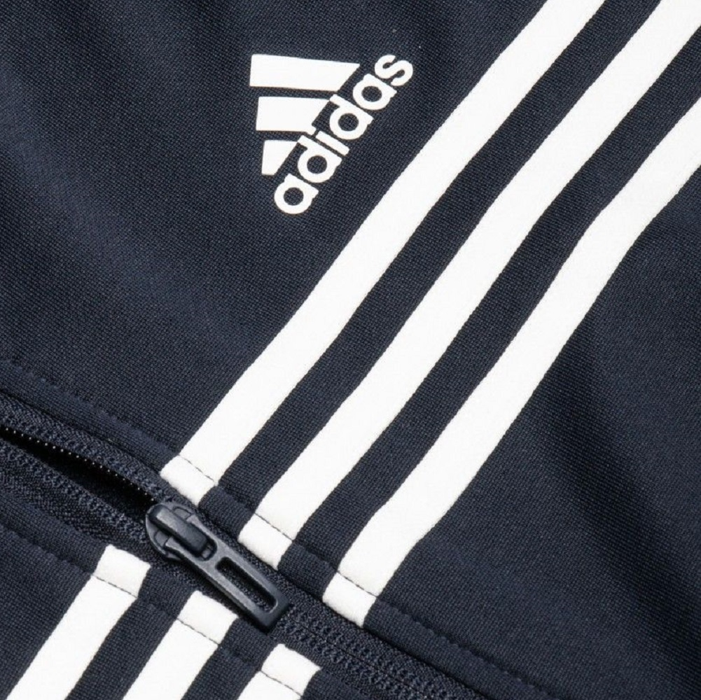 アディダス メンズ アーバントラックスーツ Sサイズ ネイビー/ホワイト 紺 フルジップフーディー&パンツ ジャージ上下セット セットアップ_画像7