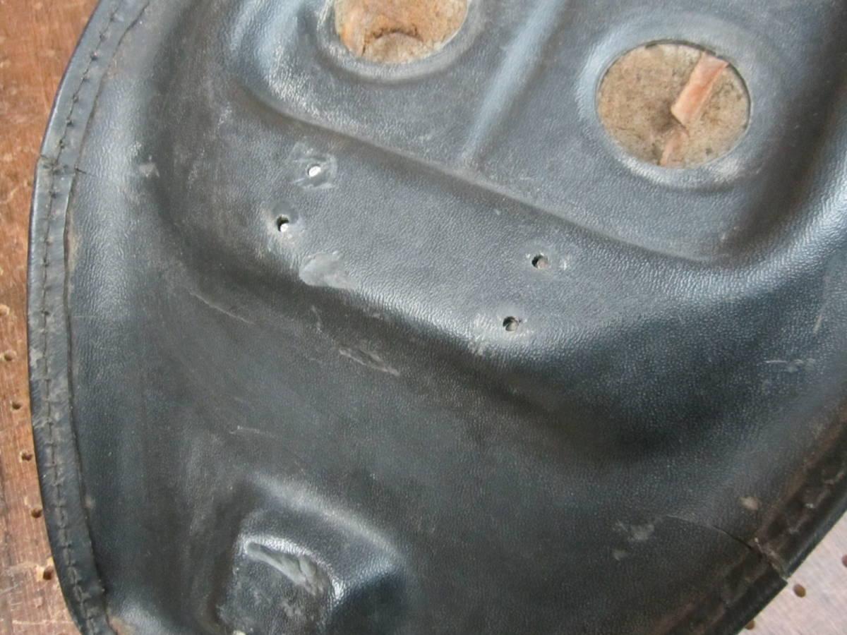 70s 当時物◆純正 バナナシート スーパーグライド FX ショベルヘッド 4速フレーム ビンテージ チョッパー ハーレー AMF FXE ダブルシート_画像8