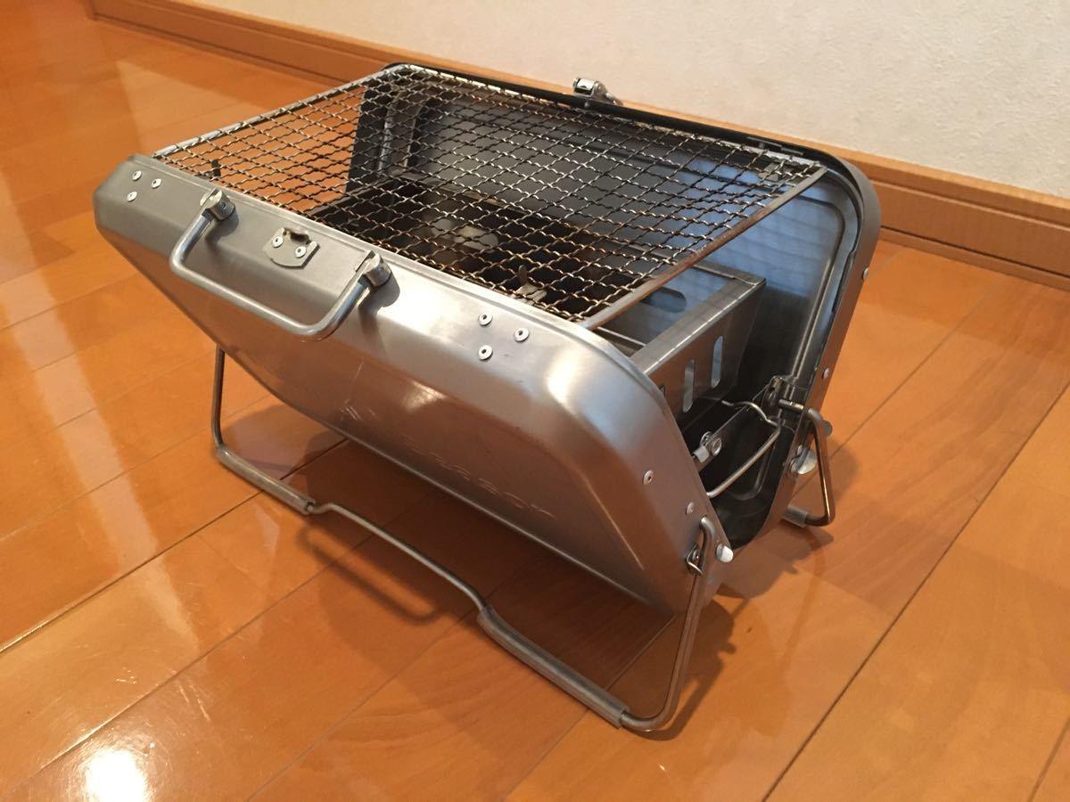 テーブル用 焼台 1〜2人 アウトドア ベランダ バーベキュー 焼肉