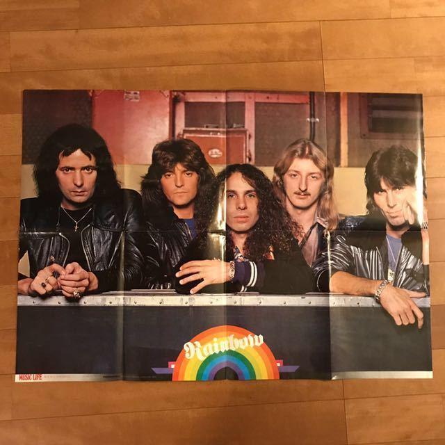 SEX PISTOLS セックスピストルズ MUSICLIFE 付録ポスター 1978年