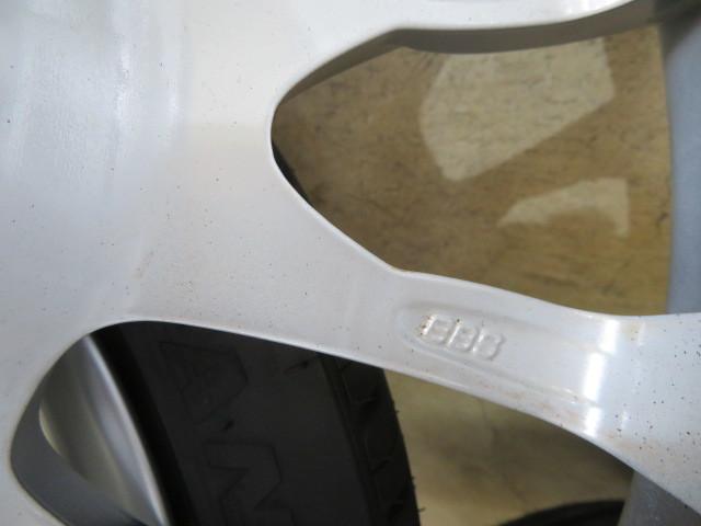 E408 BMW純正 BBS BMW Motorsport 2019年製 超バリ山 225/40R18 255/35R18 3シリーズなどに!激安!_画像6