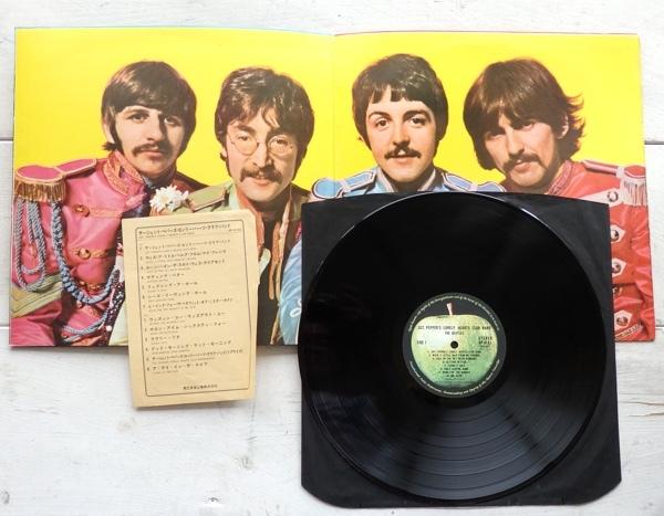 LP THE BEATLES ビートルズ サージェント・ペパーズ・ロンリー・ハーツ・クラブ・バンド AP-8163_画像3