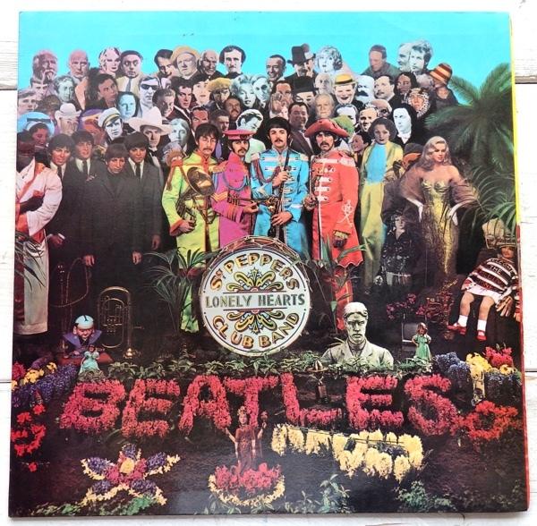 LP THE BEATLES ビートルズ サージェント・ペパーズ・ロンリー・ハーツ・クラブ・バンド AP-8163_画像1