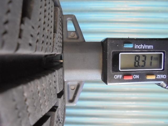 即決! ブリヂストン ICEPARTNER 2 195/65R15 4本 9分溝2本と8~9分溝2本 程度良好!_画像6