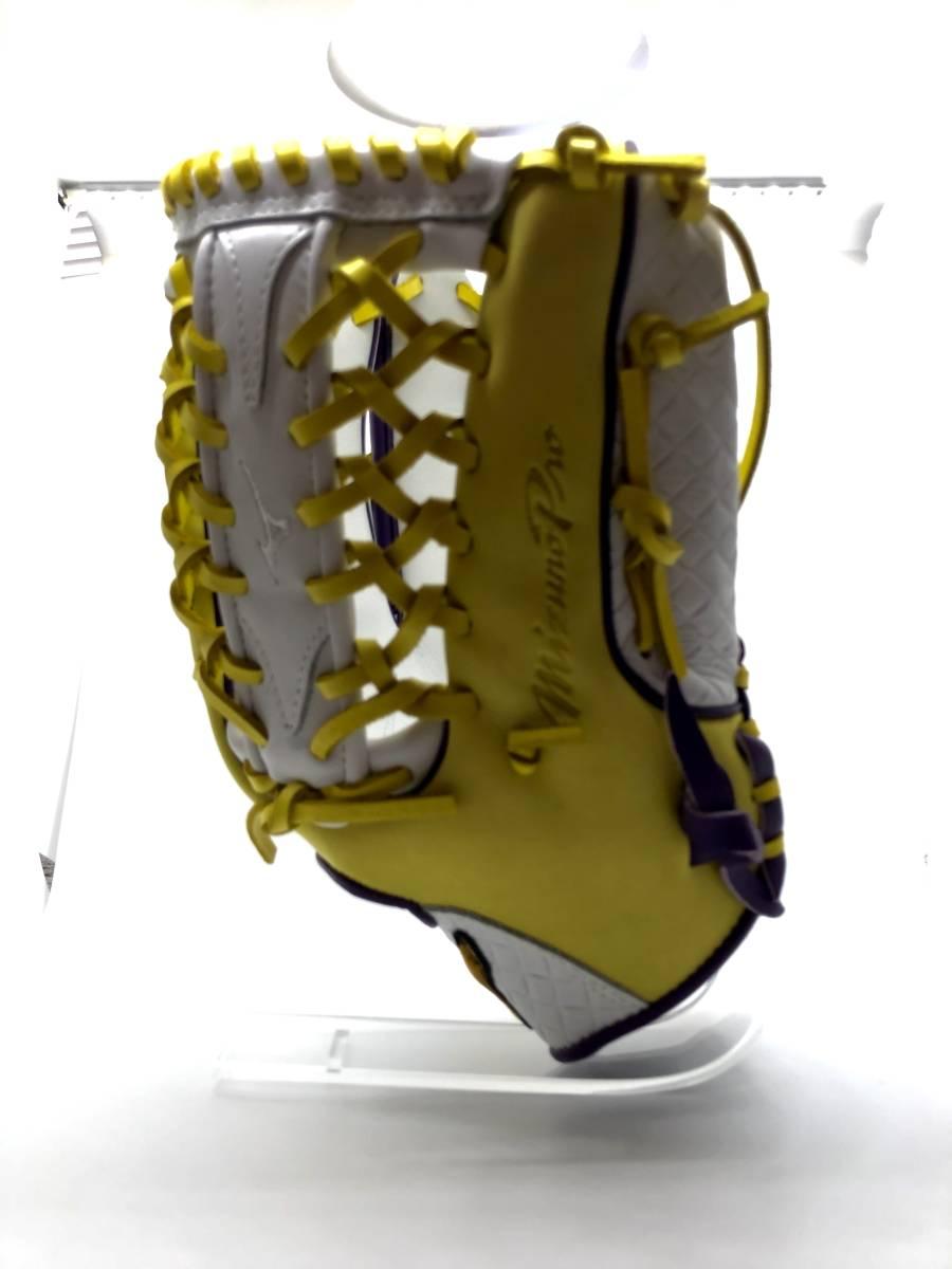 送料無料 【カスタムオーダー】ミズノ USA MIZUNO グラブ 野球 硬式 軟式 外野手用 ミズノプロ ミップ 右投げ用 12.75インチ MIZUNO PRO_画像4