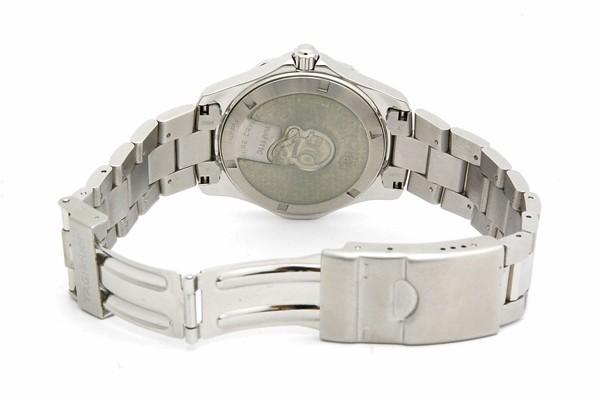 タグホイヤー TAG HEUER アクアレーサー WAF111C ダイヤ クォーツ QZ SS メンズ 腕時計 電池交換・ポリッシュ済_画像3