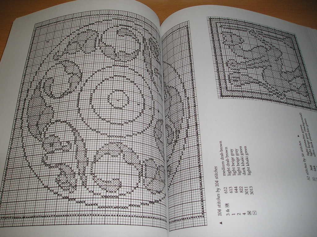 洋書・クロスステッチ・ケルトの動物のチャートデザイン集