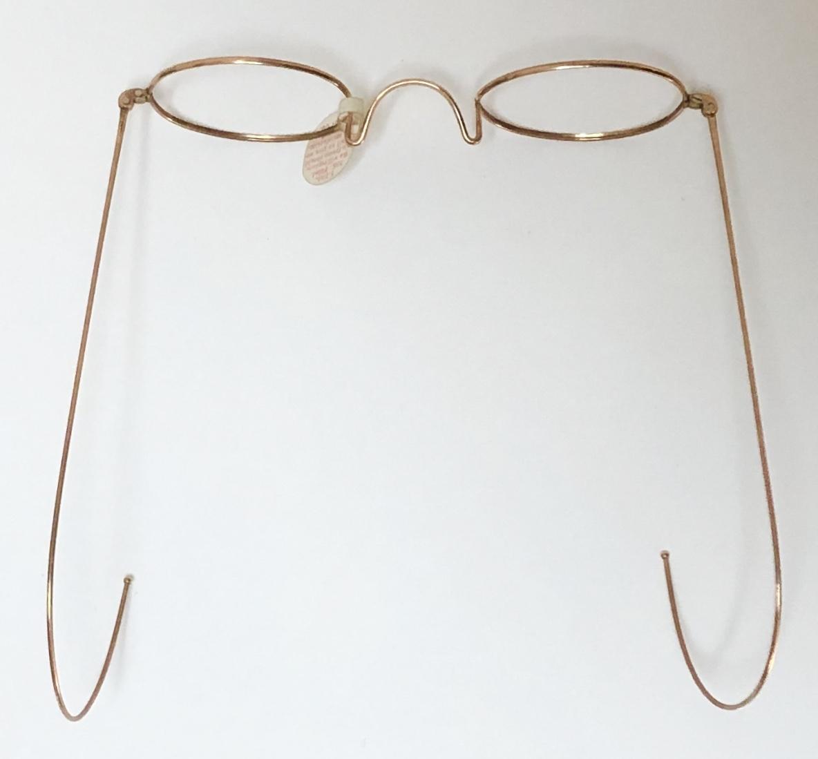 新品・AO10K金張 純正メガネ 1870~1910年代頃 American Optical アメリカンオプティカル 米国ブランド ビンテージ / ヴィンテージ_画像8
